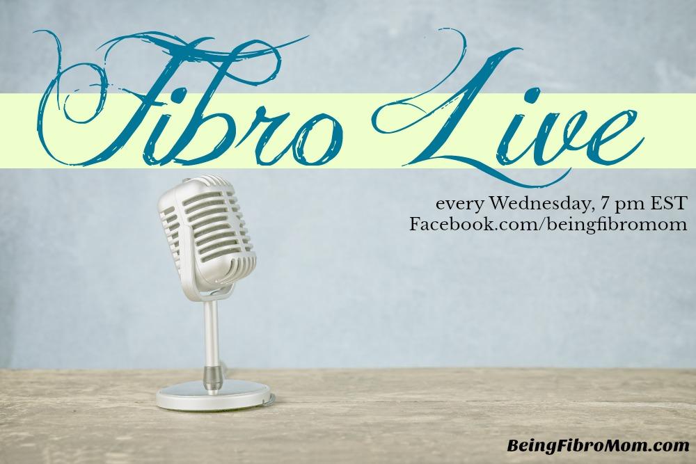 Fibro live #fibrolive #beingfibromom
