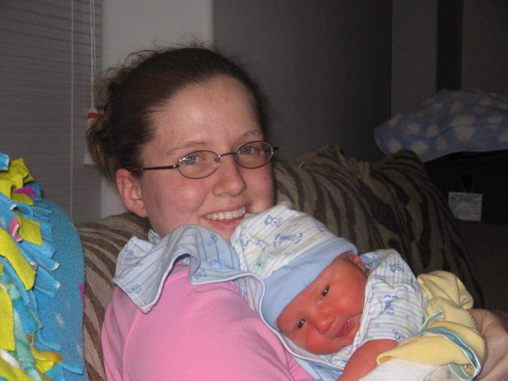 My oldest son and me, 2006