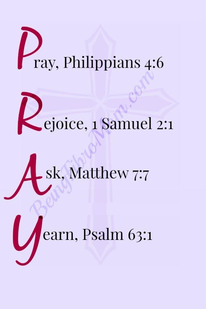 PRAY #pray #prayer