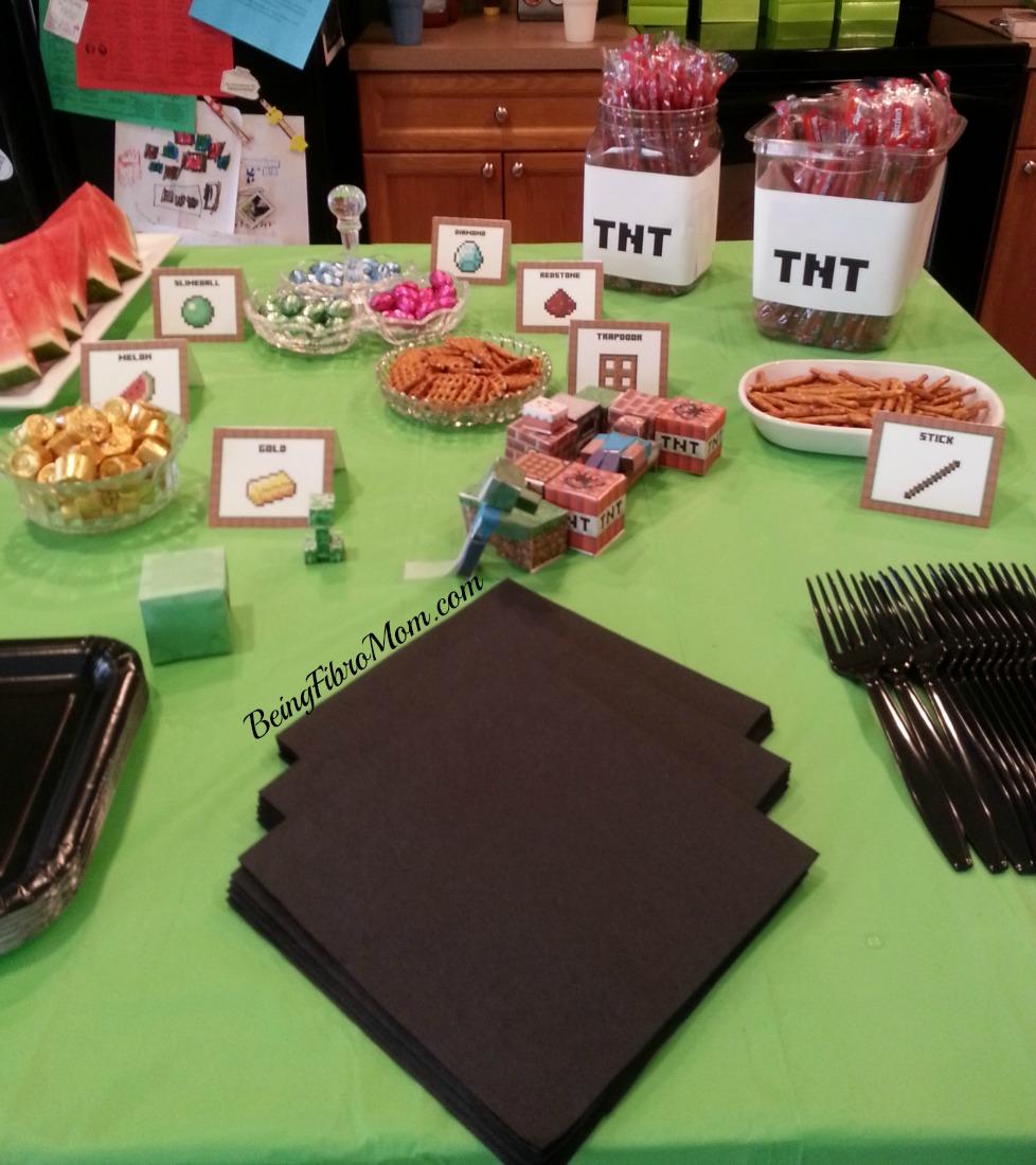 Minecraft party food #minecraft #minecraftfood #minecraftpartyfood #minecraftparty