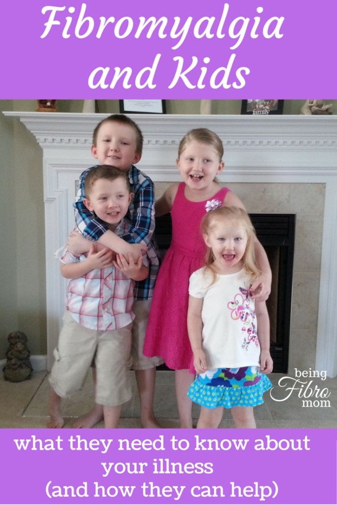 fibromyalgia and Kids - What they need to know about your illness and how they can help #fibromyalgia #chronicpain