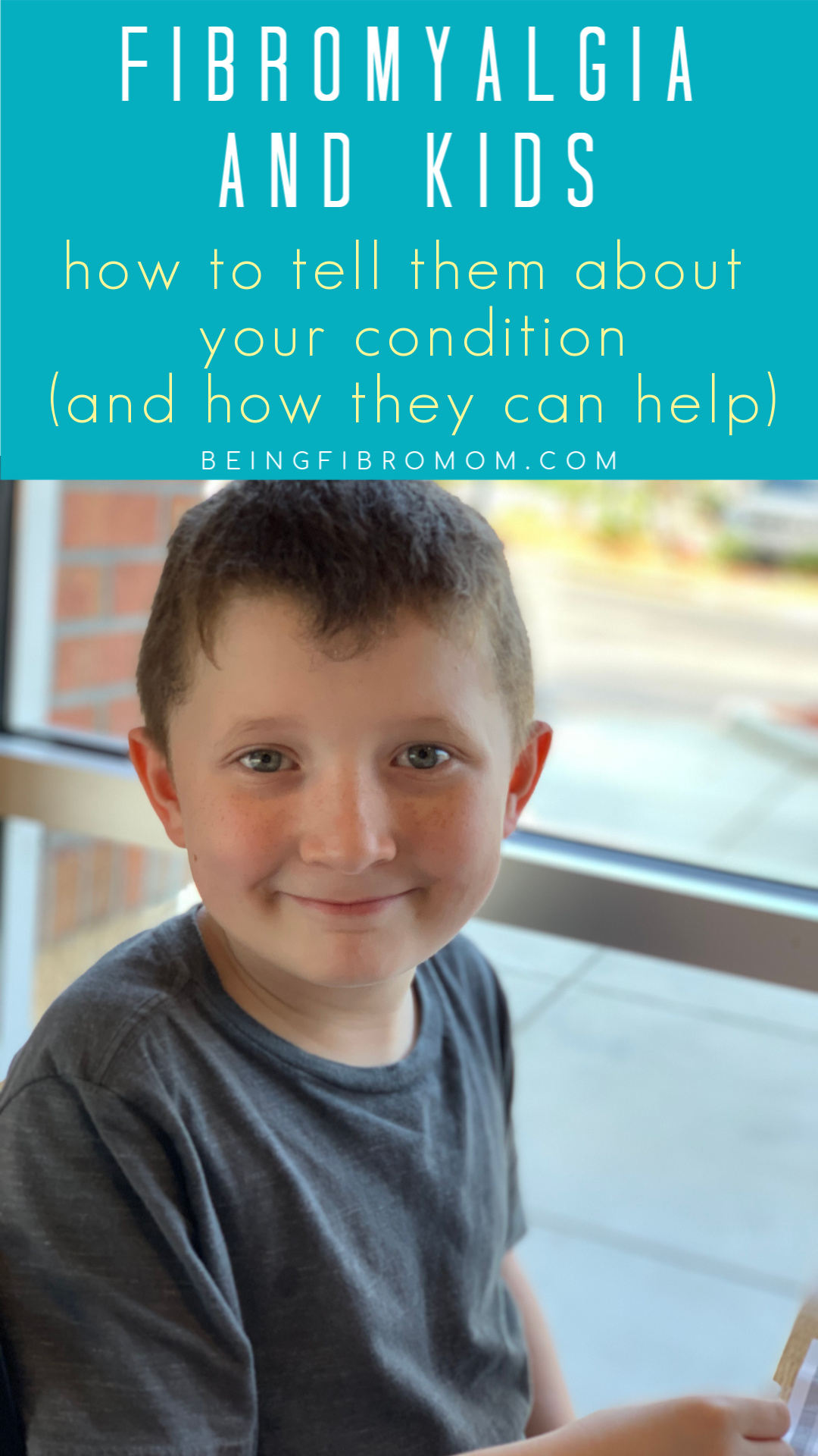 Fibromyalgia and Kids: how to tell them about your condition (and how they can help) #fibroparenting #beingfibromom #fibromyalgia