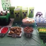 Minecraft Party Photos