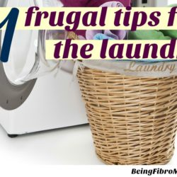 Frugal Living Tips - Laundry