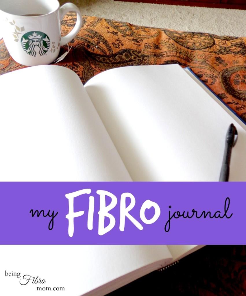 My Fibro Journal #fibrojournal #fibromyalgia