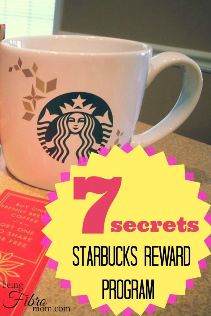 7 Secrets to the Starbucks Rewards Program #starbucks #frugal