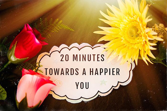 20 Minutes towards a happier you #fibromyalgia #chronicpain