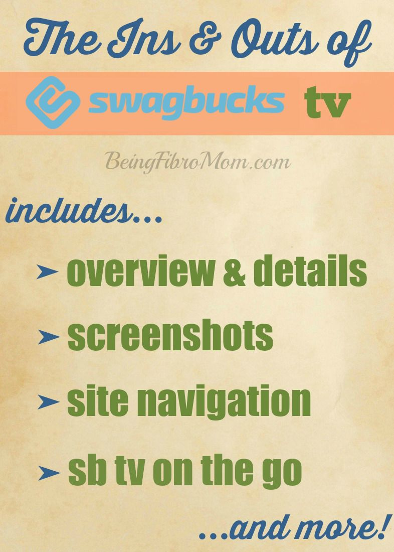 The guide to Swagbucks TV #swagbucks