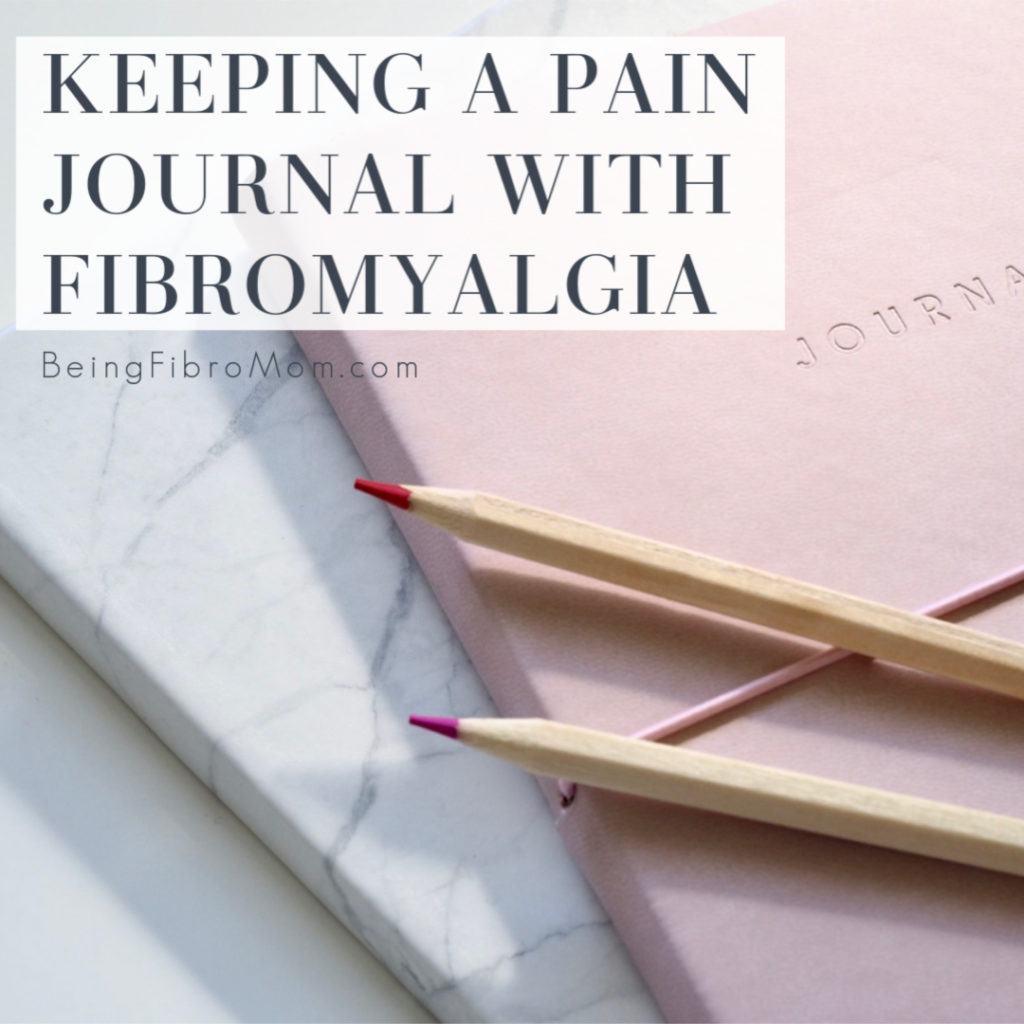 Keeping a Pain Journal #painjournal #fibromyalgia #thefibrojournal #beingfibromom