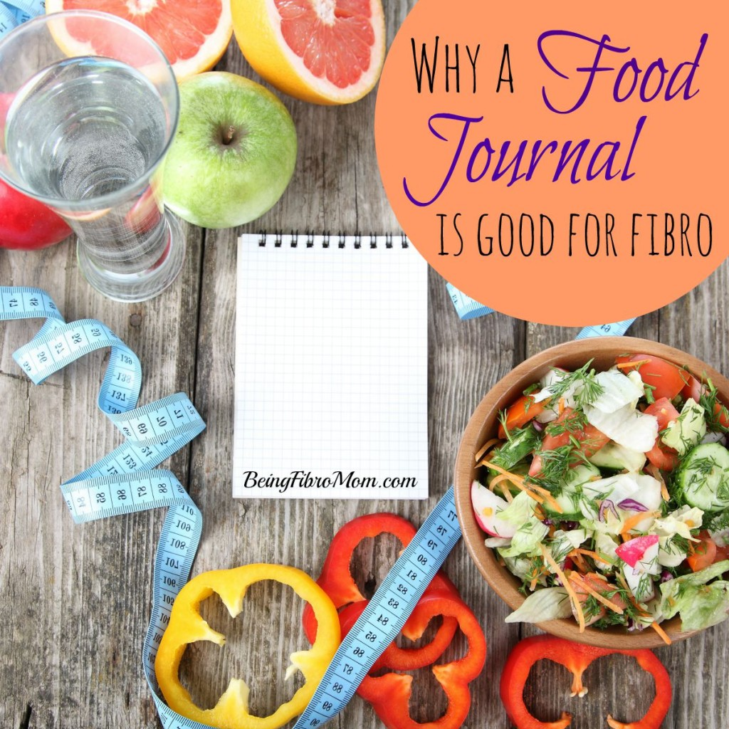 Why a Food Journal is Good for Fibromyalgia #fibromyalgia #foodjournal