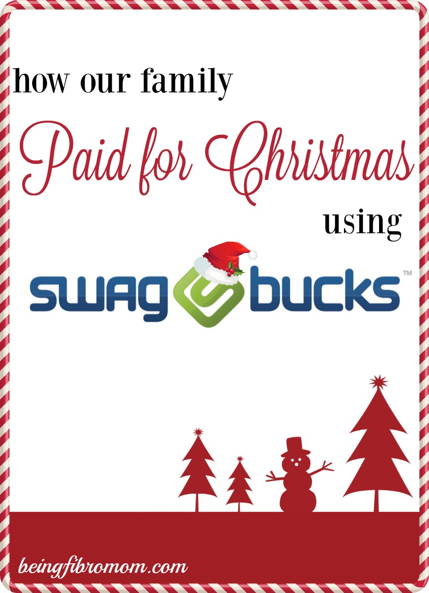 how our family paid for Christmas using Swagbucks #Christmas #Swagbucks #holidays #frugal