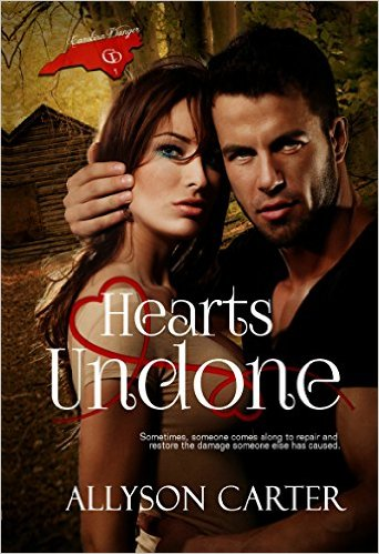 Hearts Undone by Allyson Carter #Christiannovels #christian #AllysonCarter