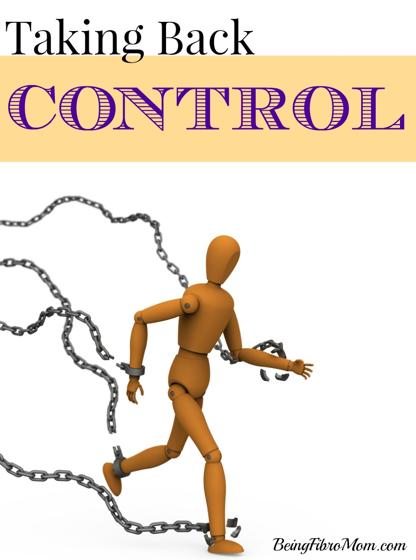 taking back control #control #MyFibroJournal