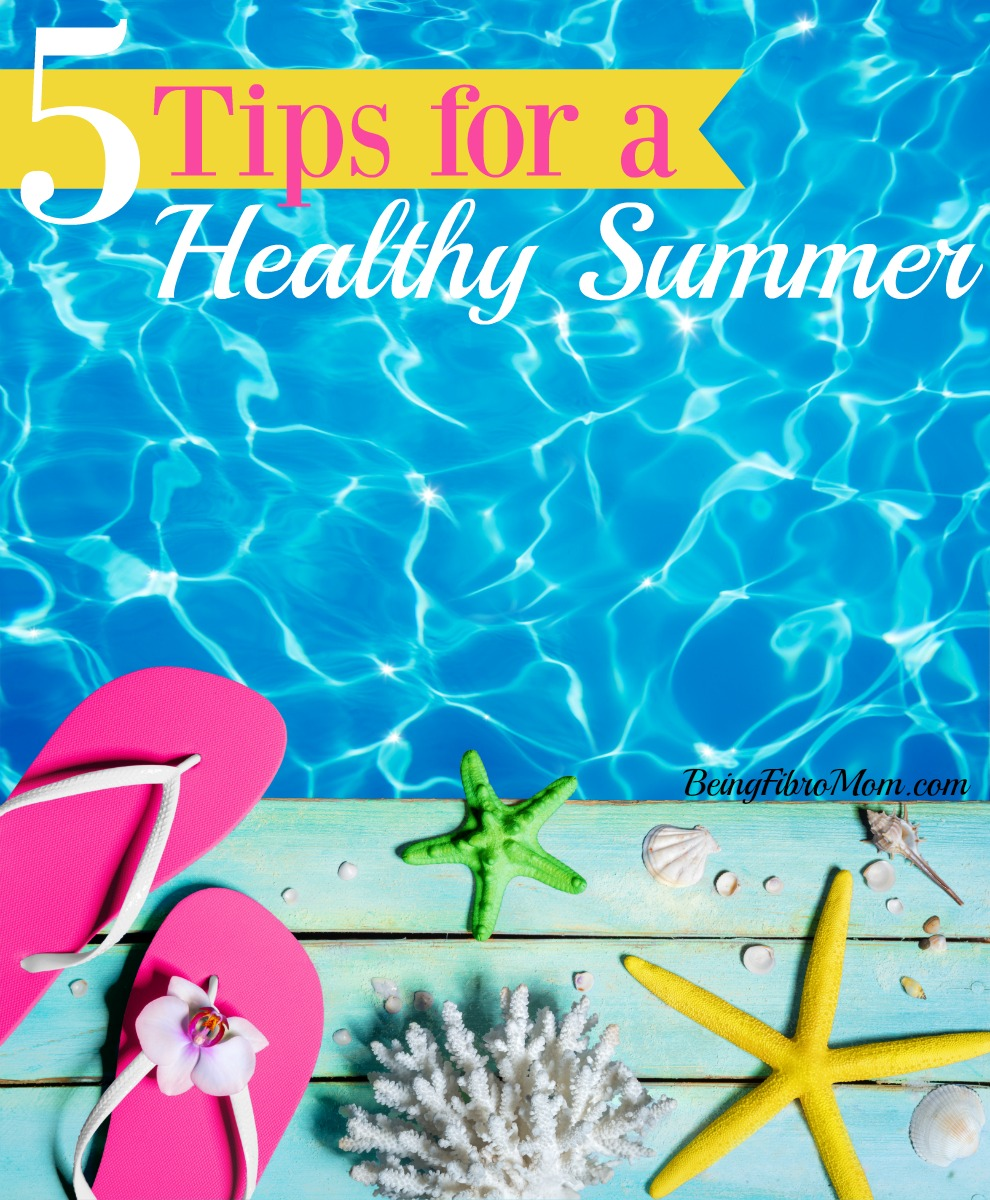 5 tips for a healthy summer #summer