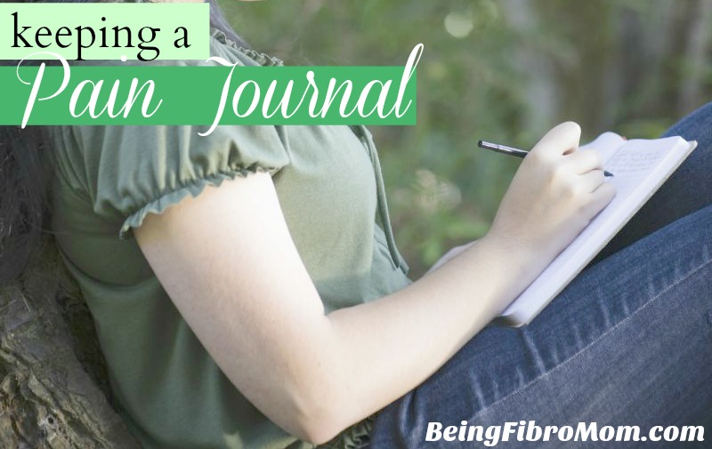 Keeping a Pain Journal #painjournal #fibromyalgia #MyFibroJournal