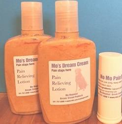 Mo's Dream Cream Pain Relieving Lotion #fibromyalgia #chronicpain #chronicillness