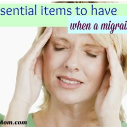 7 Essential Items to Have When a Migraine Strikes