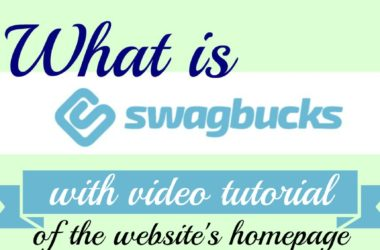 how to use the swagbucks website homepage with video tutorial #swagbucks #frugalliving #BeingFibroMom