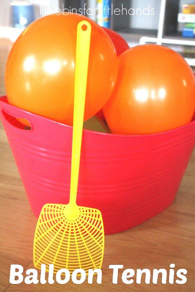 image from https://littlebinsforlittlehands.com/balloon-tennis-gross-motor-play-activity/