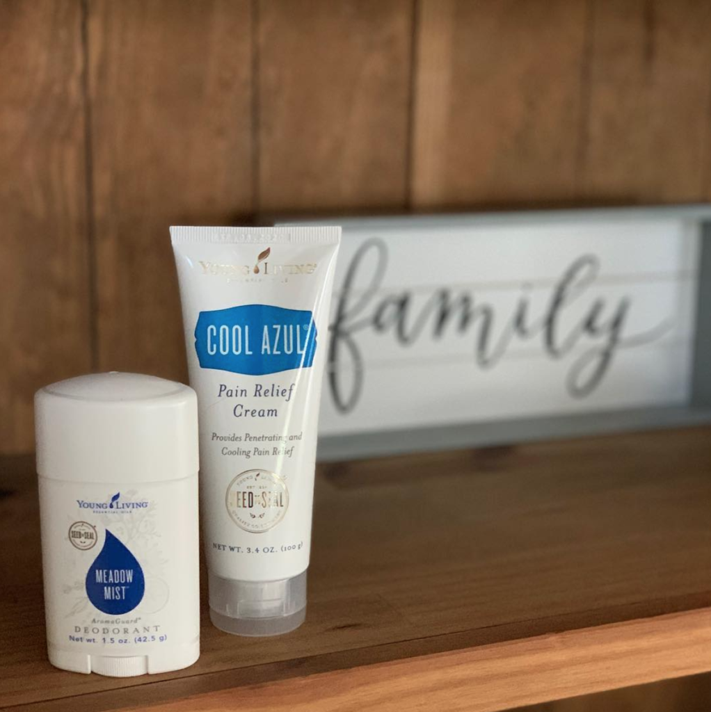 cool azul #youngliving #beingfibrom #topicalcream