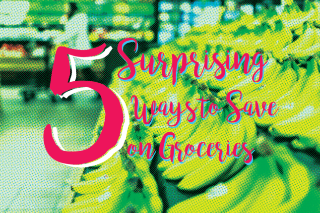 5 Surprising Ways to save on Groceries #frugalliving #beingfibromom