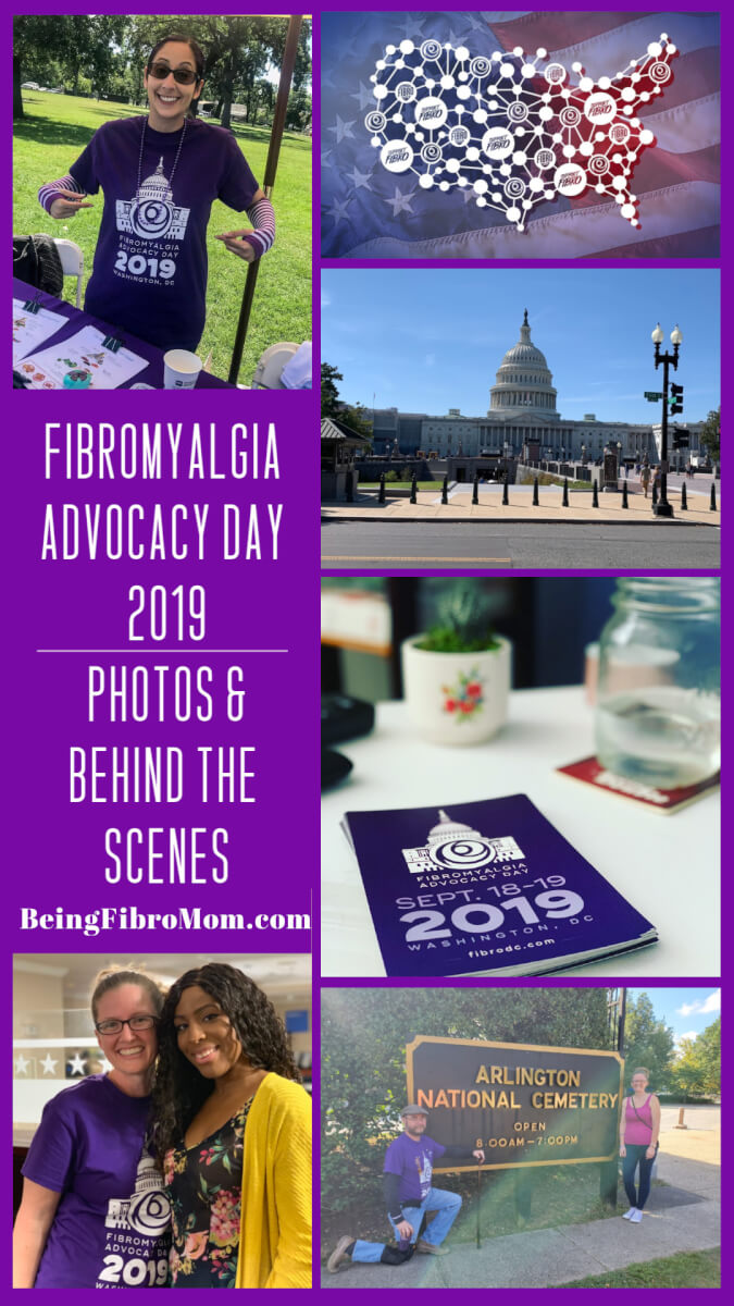 Fibromyalgia Advocacy Day 2019: Photos and Behind the Scenes #beingfibromom #supportfibro