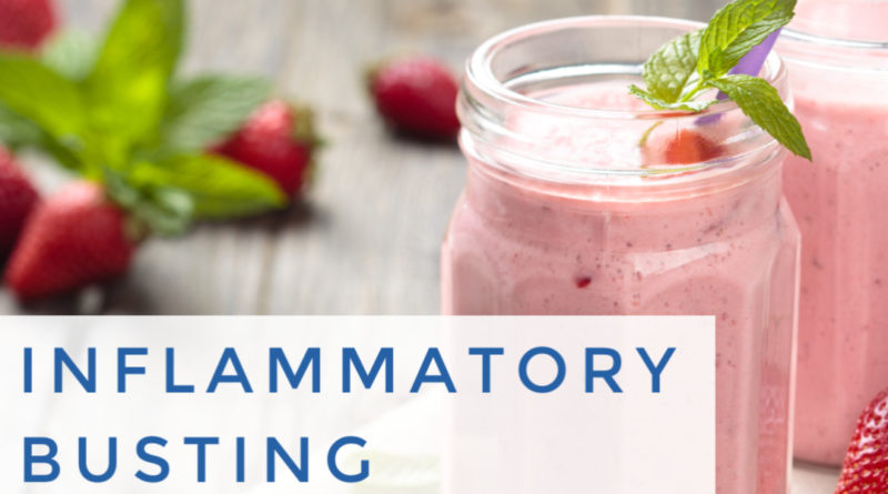 Inflammatory Busting Smoothie #beingfibromom #smoothie #fibromyalgia