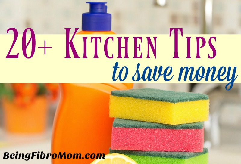 20+ Kitchen tips to save money #frugalliving