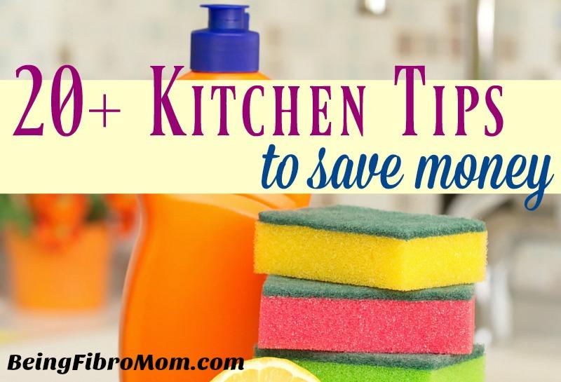 20+ Kitchen tips to save money #frugalliving