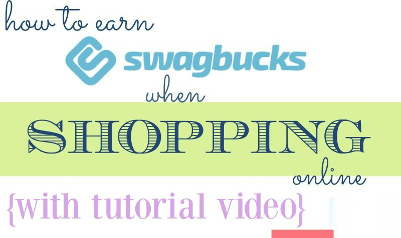 How to earn SB when shopping online with Swagbucks #Swagbucks #BeingFibroMom