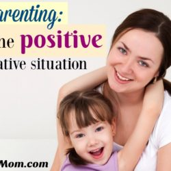 Fibro Parenting: Seeing the Positive in a Negative Situation