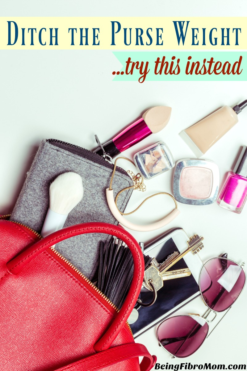 Ditch the purse weight and Try this instead #purse #fibroreview #beingfibromom