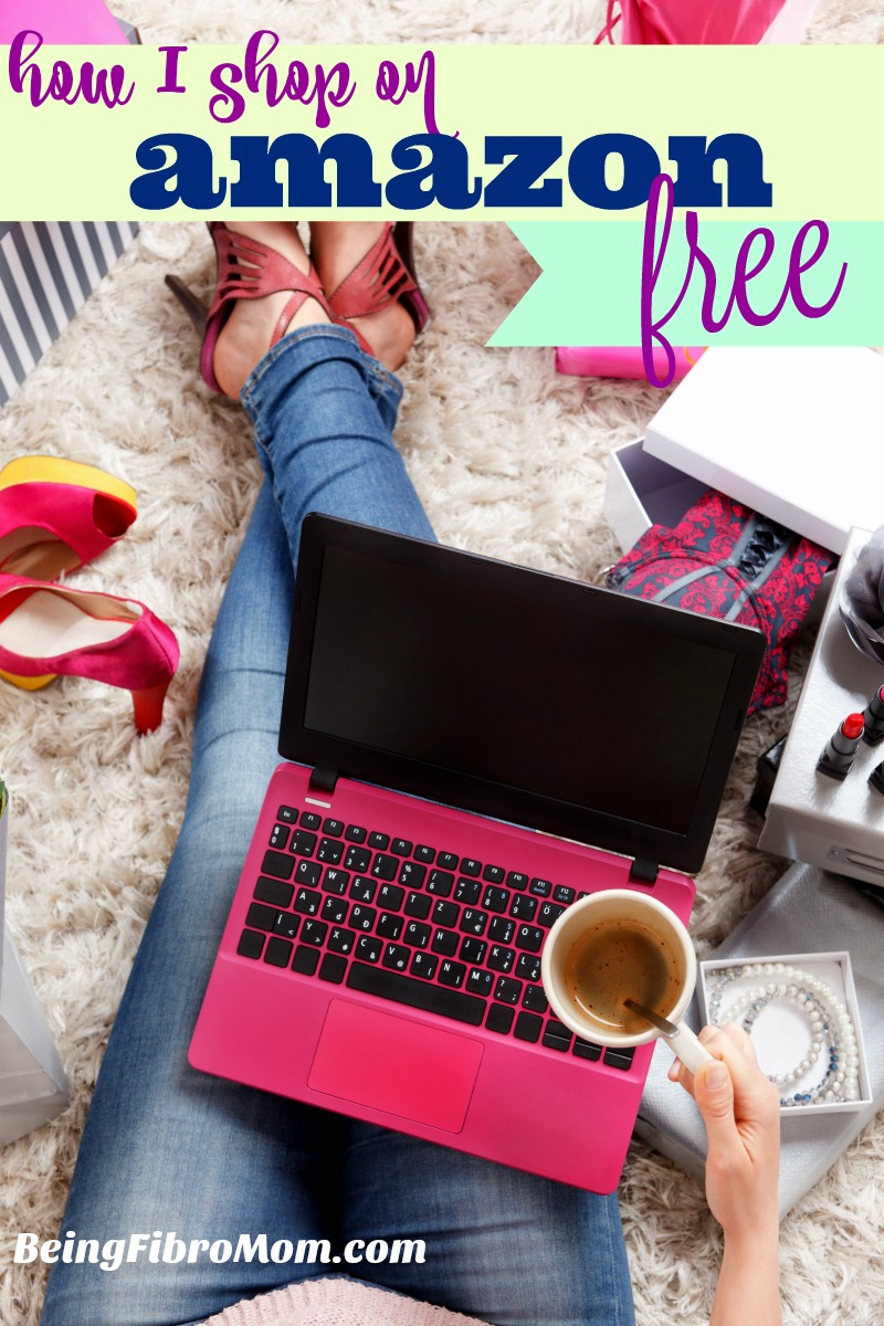 how I shop on Amazon for free #beingfibromom #swagbucks