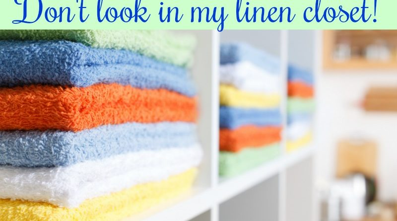 Don't look in my linen closet! #ps #beingfibromom