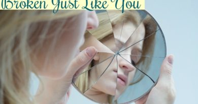 broken just like you #ps #beingfibromom