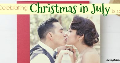 why celebrating Christmas in July is a must #greetingcards #BasicInvite