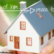 Piece of him is peace for me