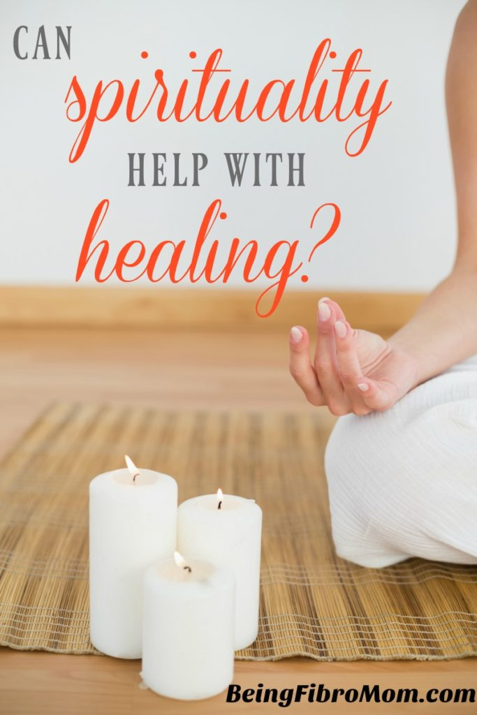 can spirituality help with healing #beingfibromom #FibroLive