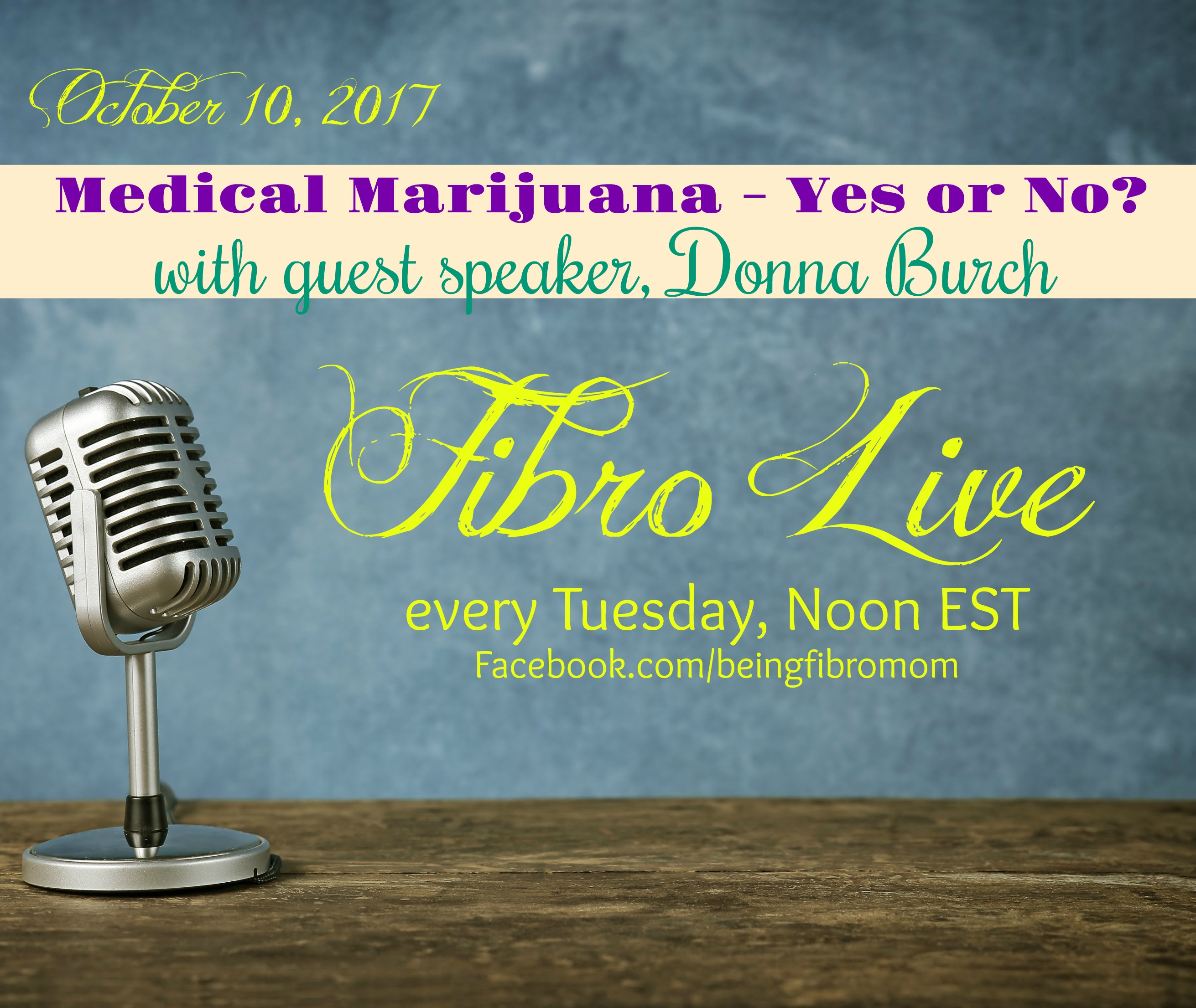 Medical marijuana yes or no? #medicalmarijuana #FibroLive