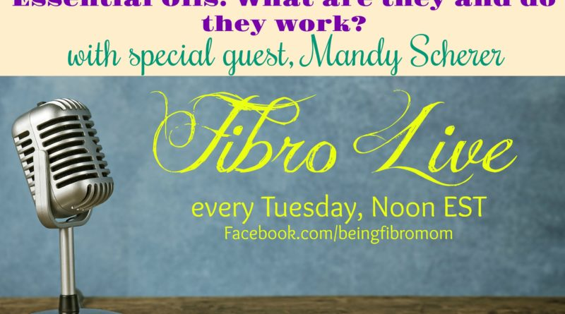 Essential Oils: Do they really work? #FibroLive #beingfibromom