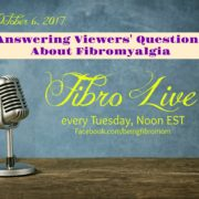 Answering Viewers' Questions About Fibromyalgia {with Fibro Live video}