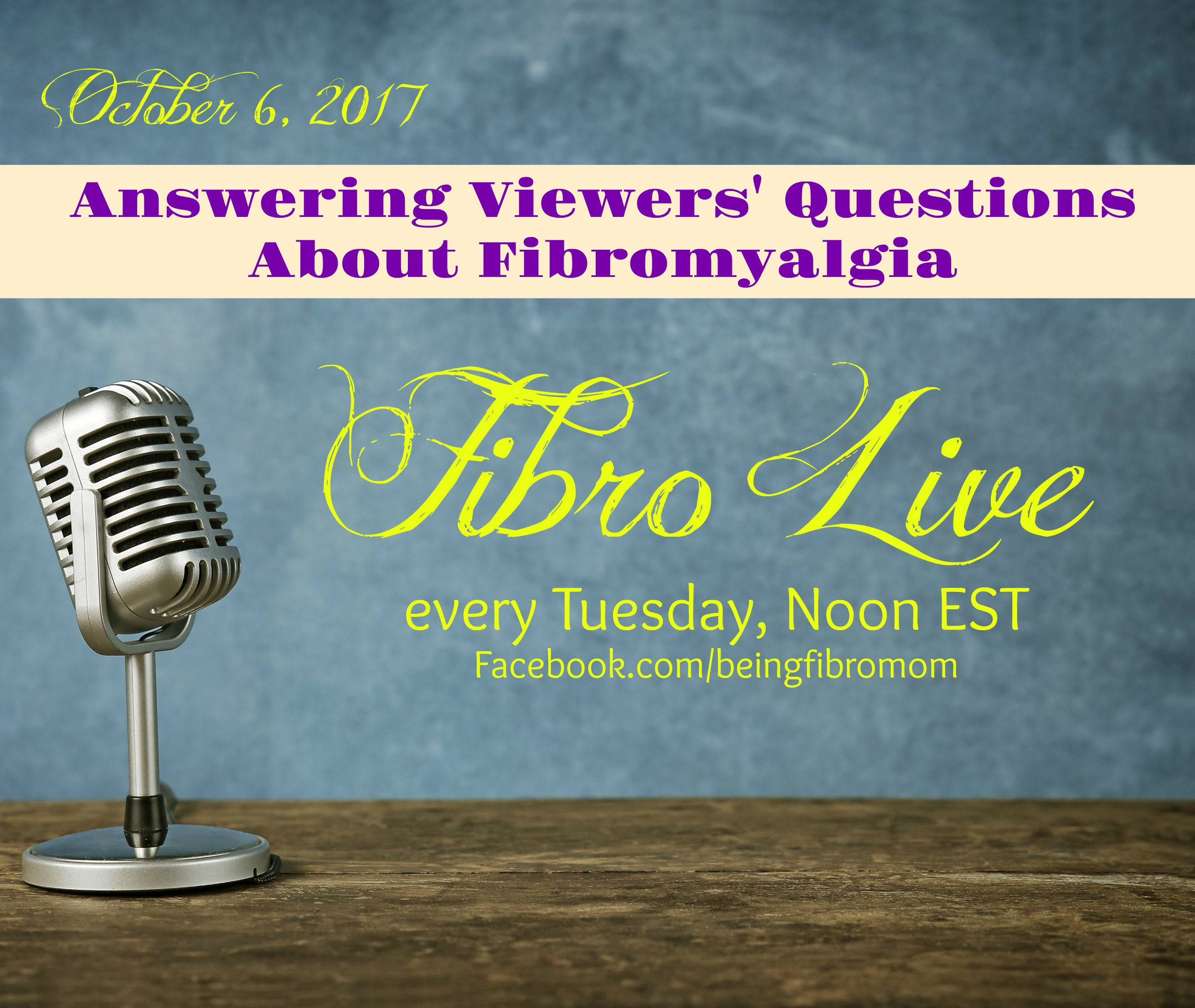 Answering Viewers Questions About Fibromyalgia With Fibro Live Video Being Fibro Mom