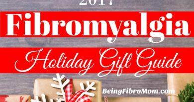 2017 Fibromyalgia Holiday Gift Guide #beingfibromom