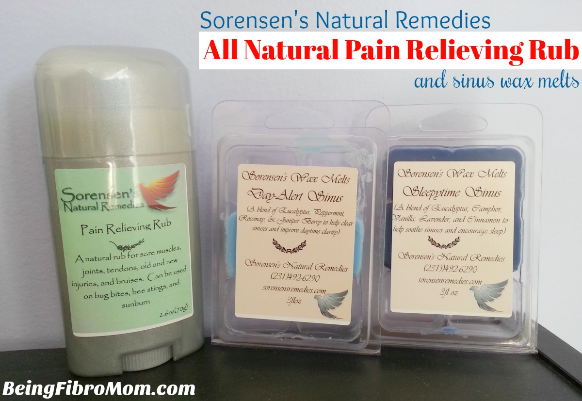 Review of Sorensens Natural Remedies #naturaltreatments #beingfibromom