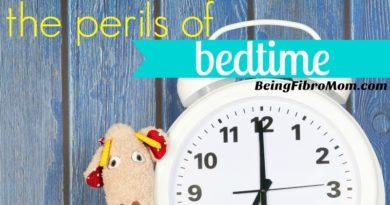 the perils of bedtime #parenting #TheFibromyalgiaMagazine #beingfibromom