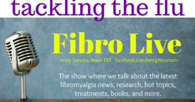 Tackling the Flu #beingfibromom #fibroLive