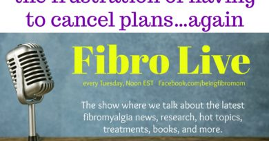 the frustration of having to cancel plans again #FibroLive #BeingFibroMom
