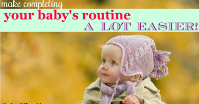 make completing your baby's routine a lot easier #fibroparenting #beingfibromom