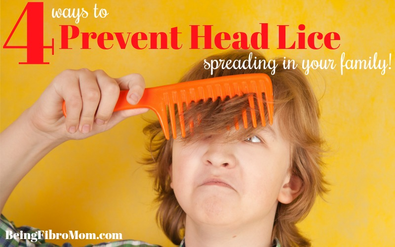 4 Ways to Prevent Head Lice Spreading in Your Family
