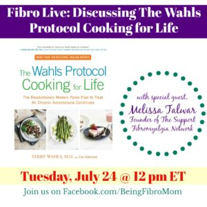 Fibro Live: The Wahls Protocol Cooking for Life